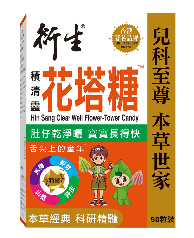 Hin Sang Clear Well Flower-Tower Candy